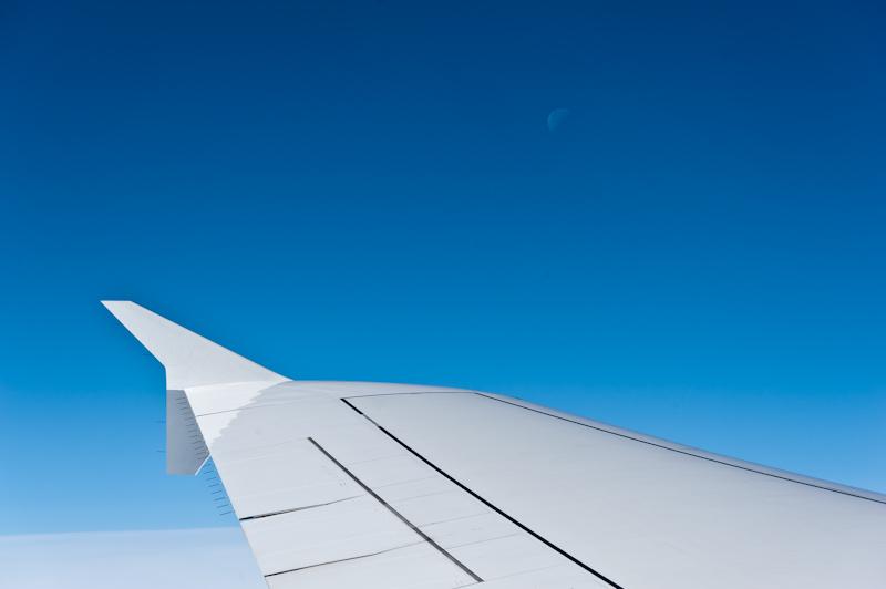 Fluegel A380 Mond